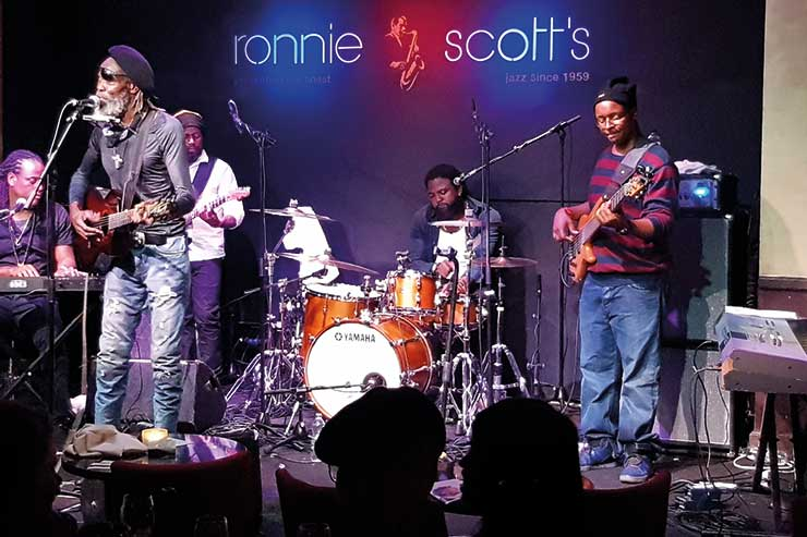 Ronnie Scotts, Bankie Banx