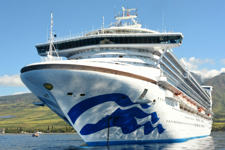 Customers were due to sail on the Star Princess