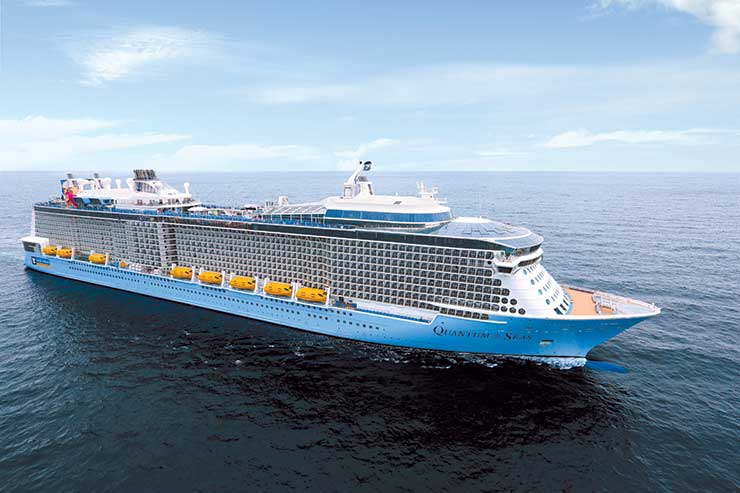 Royal Caribbean Quantum class ship