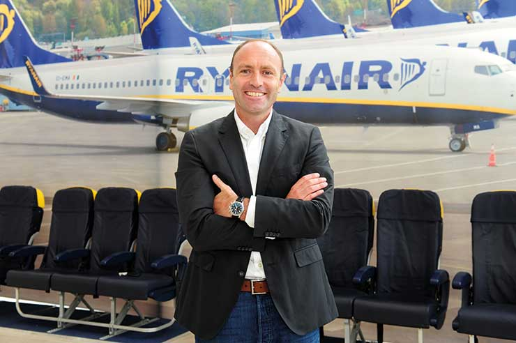 Kenny Jacobs, Ryanair