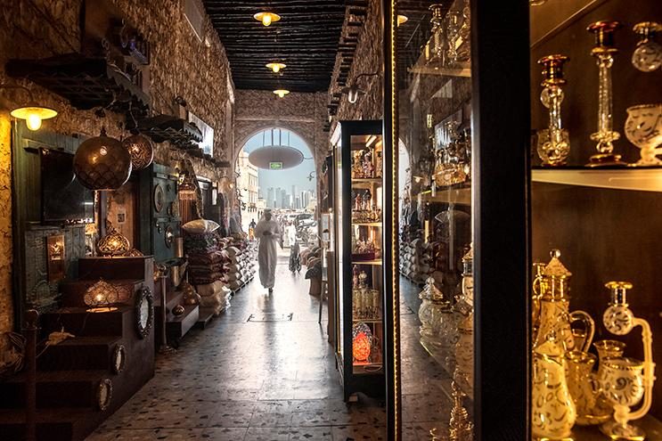 1. Shop in the souq