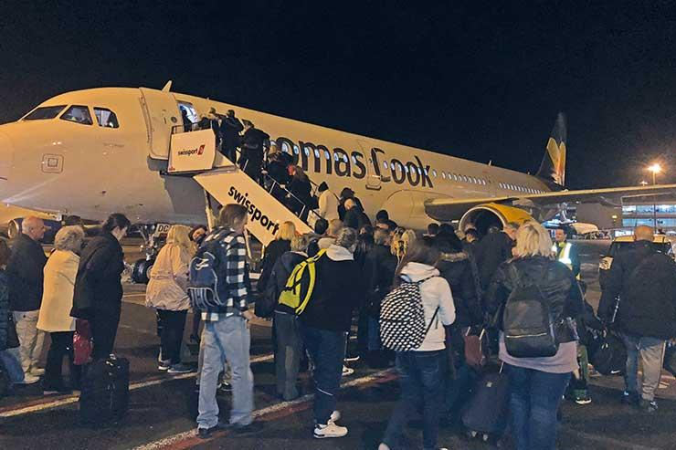 Thomas Cook operated the first flight back to Tunisia from the UK in February 2018