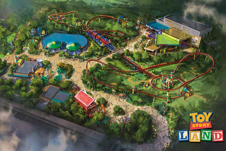 Disney to open Toy Story theme park