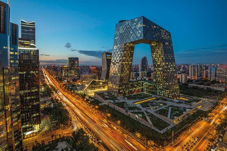 Beijing is around 30 miles from the new Daxing International airport