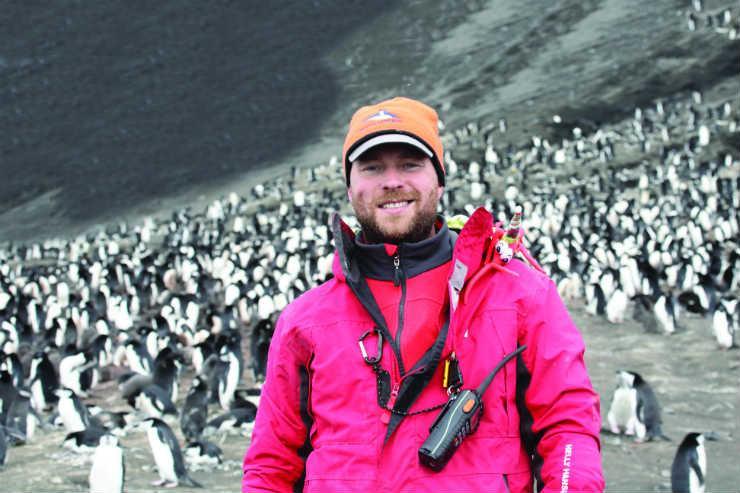 Penguinologist Dr Tom Hart