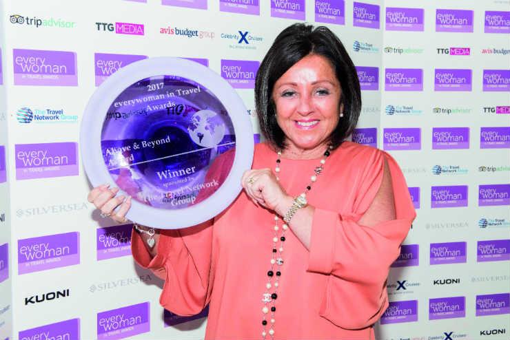 Travel Counsellors' Karen Morris celebrates award win