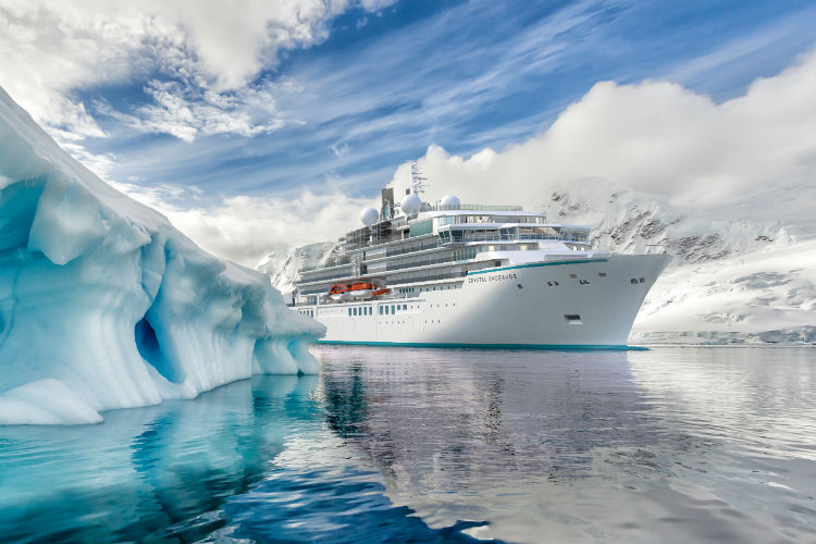 Crystal Endeavor expedition yacht to launch from Iceland
