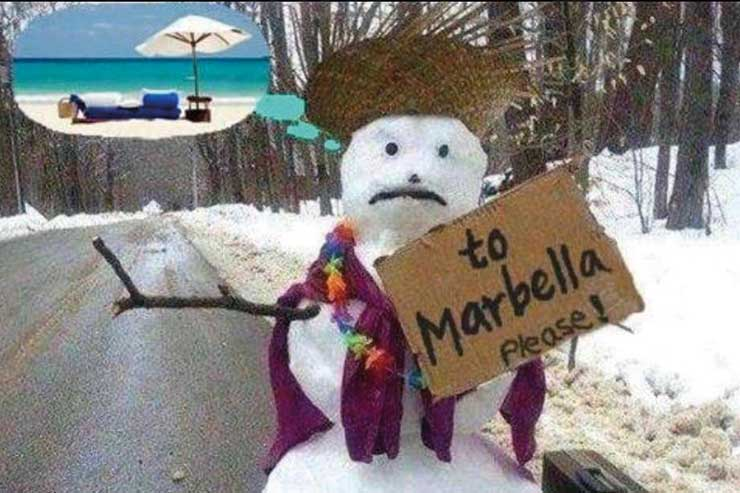 Cumbria Travel snowman