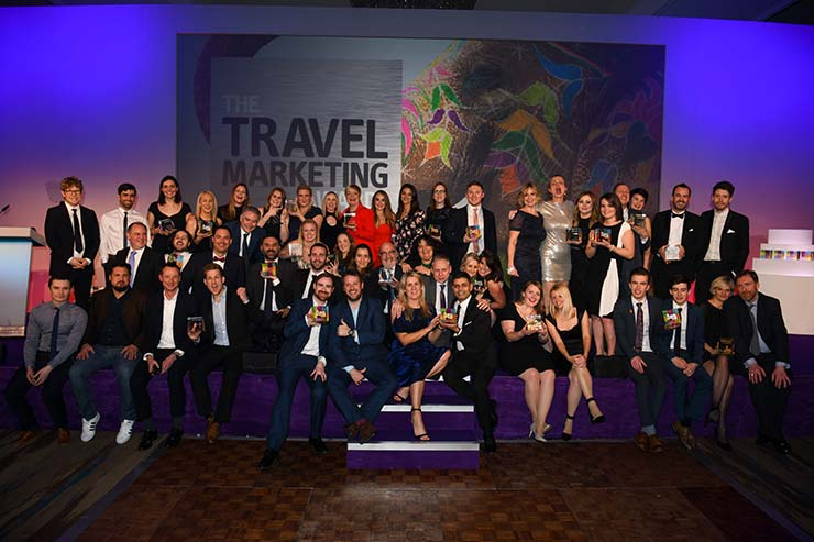 Travel marketing Awards winners 2018