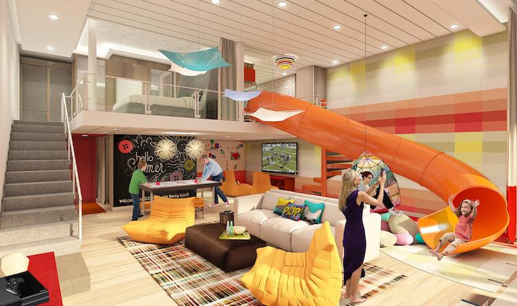 Royal Caribbean to develop 'value family concept' using Ultimate Family Suite