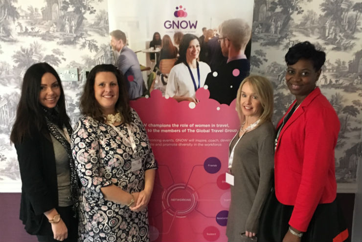 Global Travel Group 'champions women in travel' at latest GNOW event