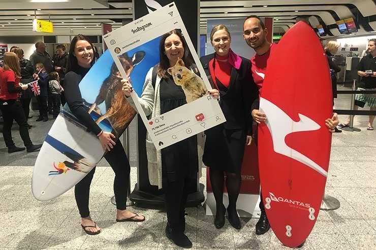 Qantas 17-hour non-stop London-Australia service