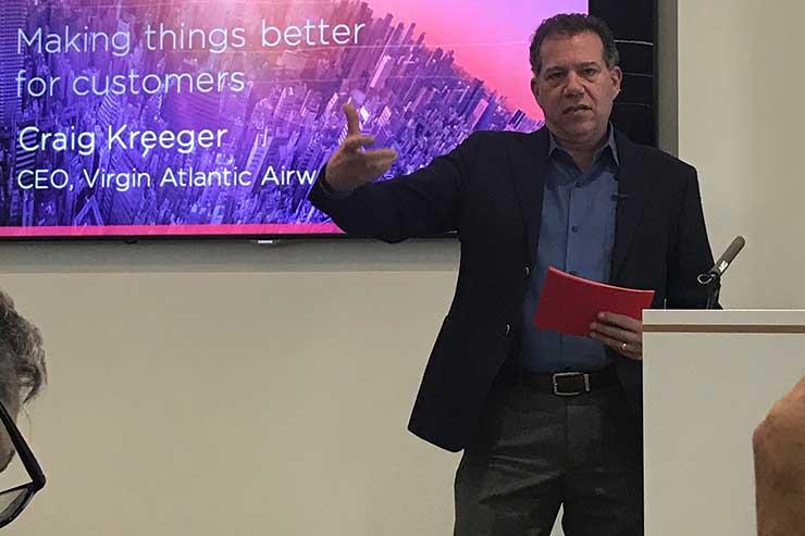 Craig Kreeger, Virgin Atlantic