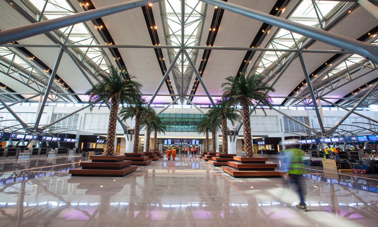 Muscat airport opens new terminal building