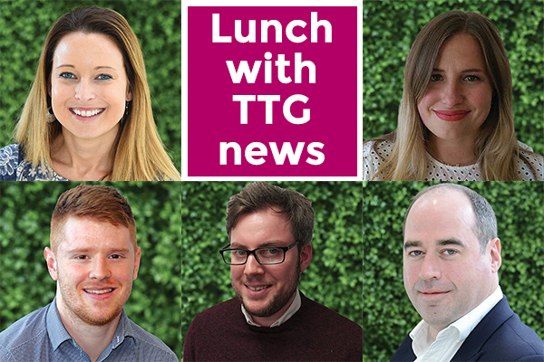 Networking lunch with the TTG Media news team