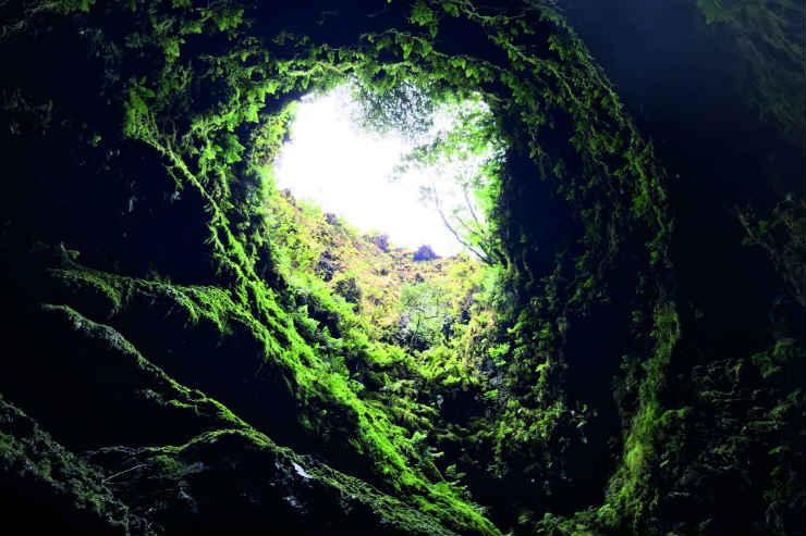 Algar do Carvao, Azores.JPG