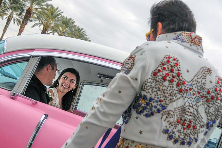 There's still time to get Elvis to conduct your wedding