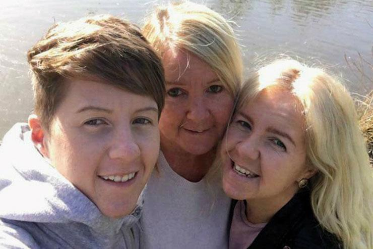 Cassie Hayes (Left) Tracy Hayes (Centre) Nadine Hayes (Right)
