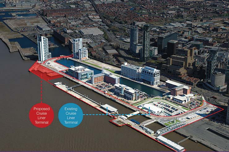 New Liverpool Cruise Terminal, relocation image