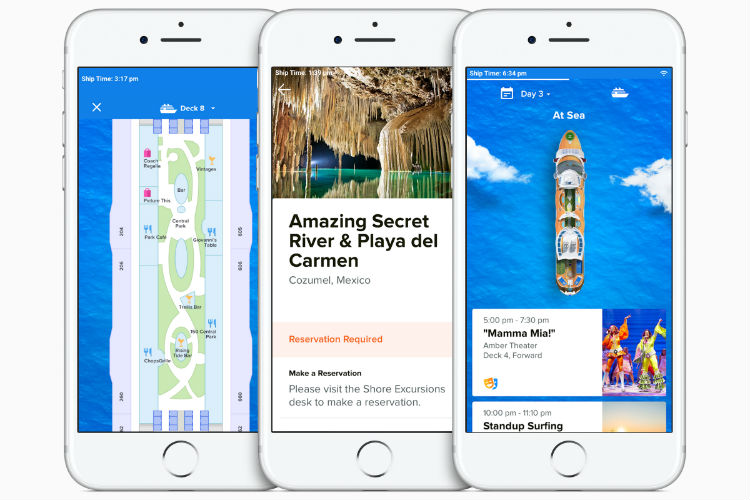 Royal Caribbean's new app aims for 'car to bar in 10 minutes'