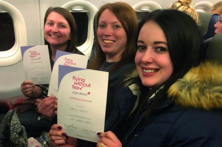 Tackling fear of flying with Virgin Atlantic