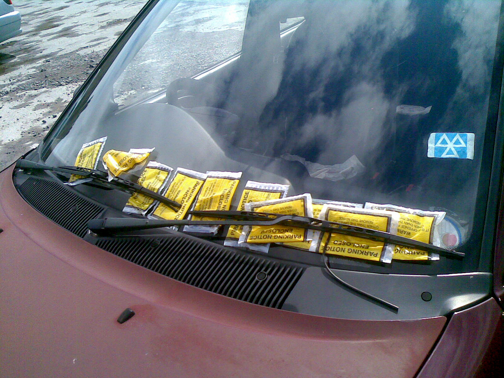 Parking Tickets Credit: Ashley Coates CC Flickr