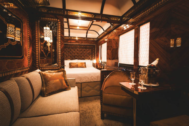 Poshest train in the world? VSOE unveils redesigned Grand Suites