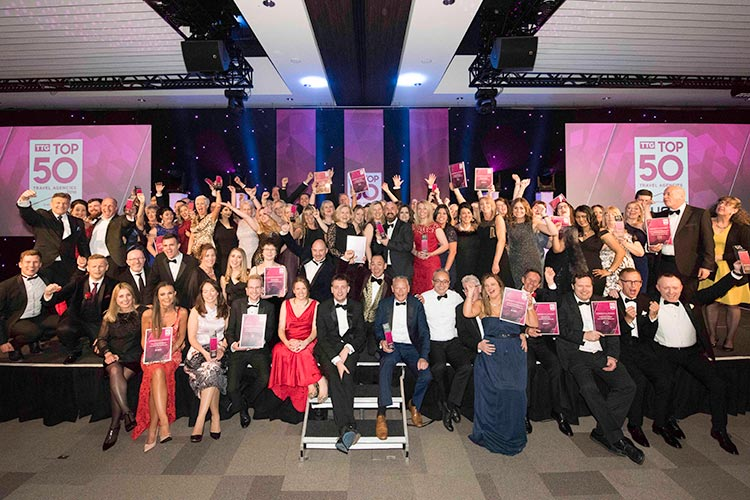 TTG Top 50 Travel Agencies winners 2018