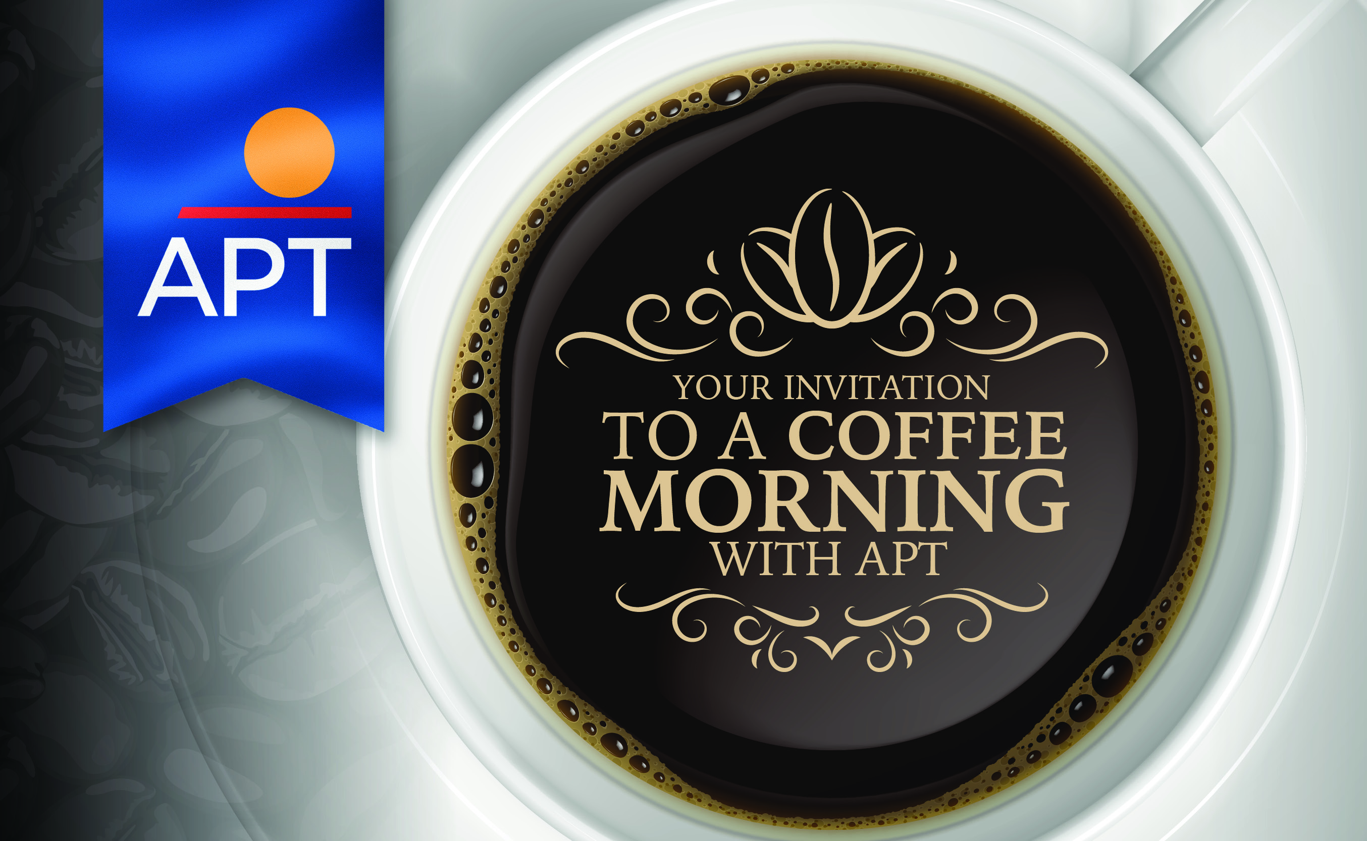 APT to host coffee mornings for homeworkers