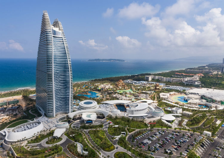 Atlantis opens $2 billion China property