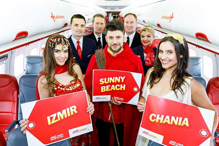 Jet2.com and Jet2holidays launches new Summer 19 routes to Sunny Beach, Izmir and Chania