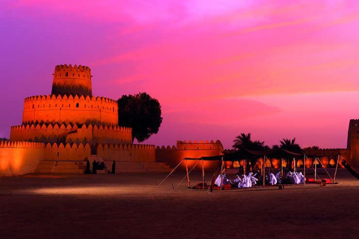 Al-Jahili Fort in Al Ain, Abu Dhabi