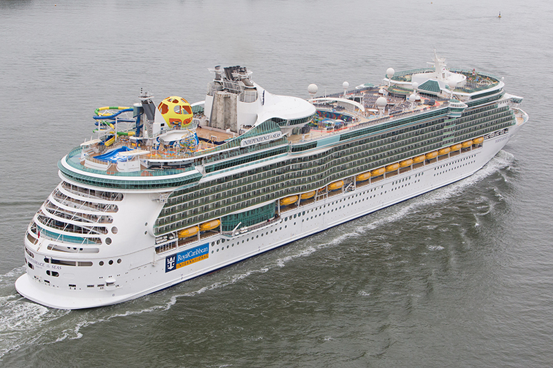 Independence of the Seas selling at a record rate