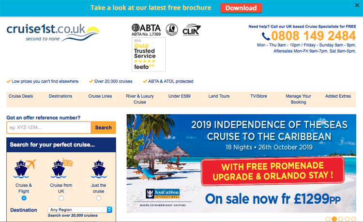 Cruise1st acquired by German online giant Dreamlines
