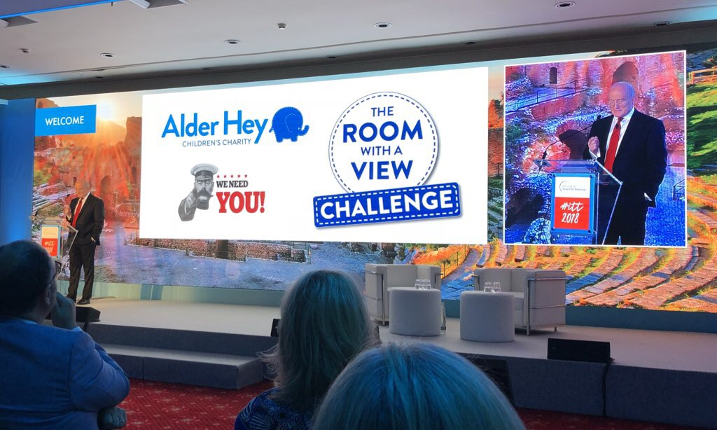 ITT 2018: Travel figures sought to become Alder Hey champions