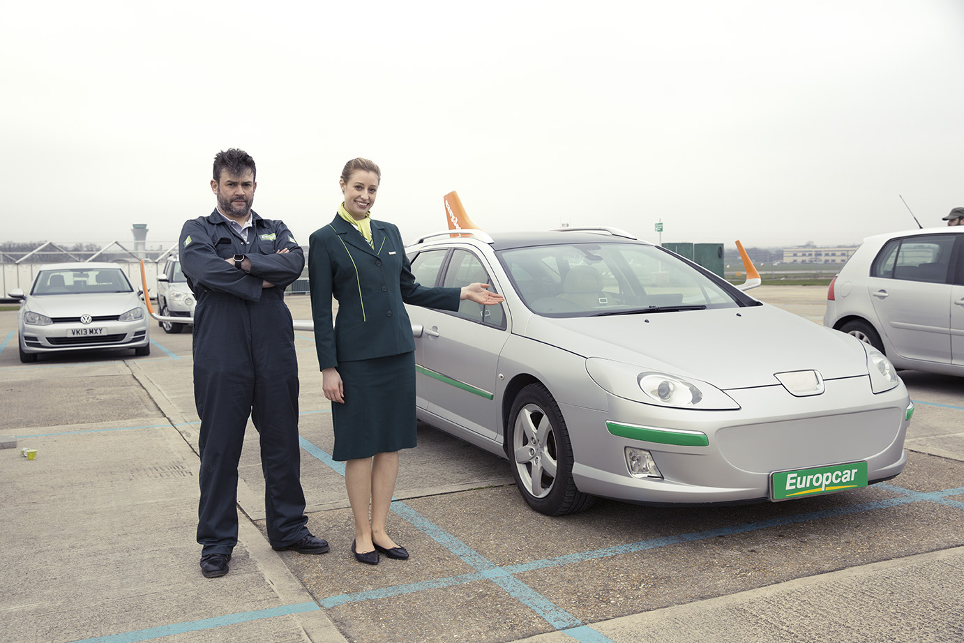 Meet easyJet and Europcar's new, err, 'fly-ire car' fleet