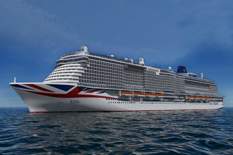 P&O Cruises names new ship Iona 'to celebrate sea and island nation'