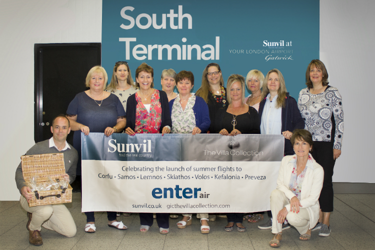 Sunvil's new Enter Air partnership launches with Sporades fam trip