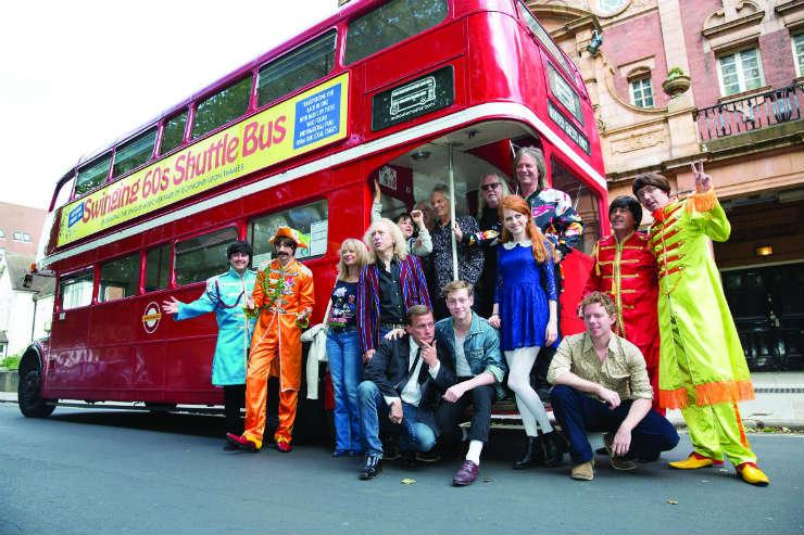 Musical Heritage London's 1960s bus tour