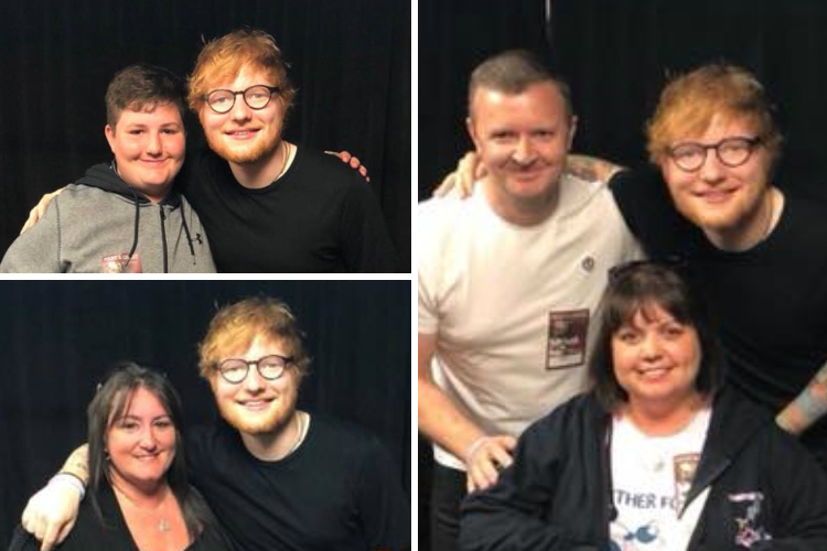 Ed Sheeran backs Chloe and Liam Together Forever Trust