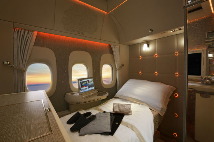 Emirates plans windowless aircraft