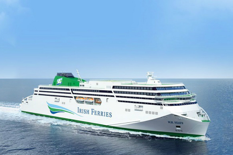 Irish Ferries profits hit by further delays to new build and flagship dry dock