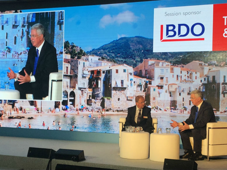 ITT 2018: Former defence secretary says holidaymakers must take some responsibility for own safety