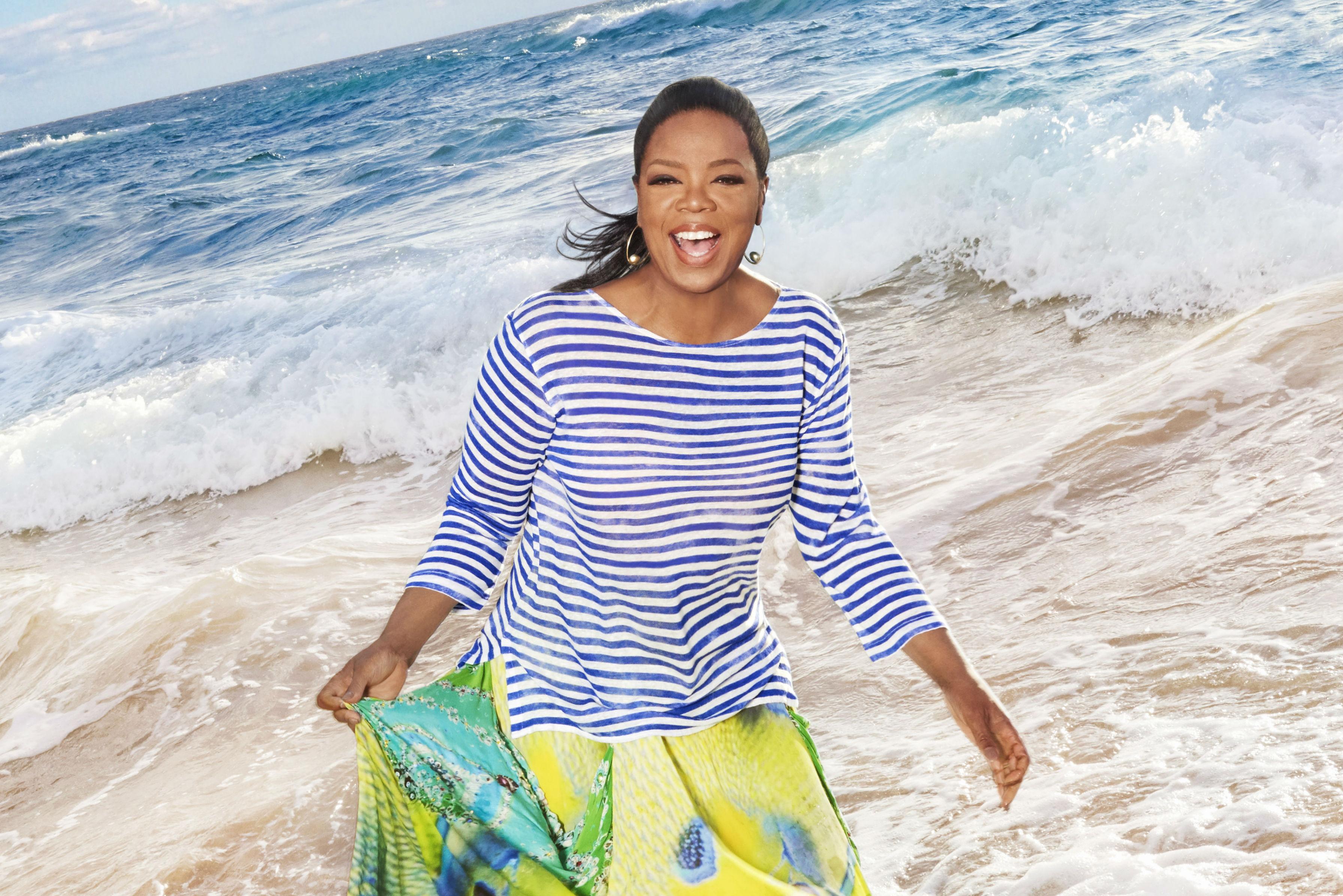 Oprah Winfrey named godmother of new Holland America Line ship