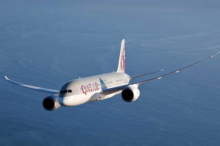 Qatar Airways restarts flights to Gatwick