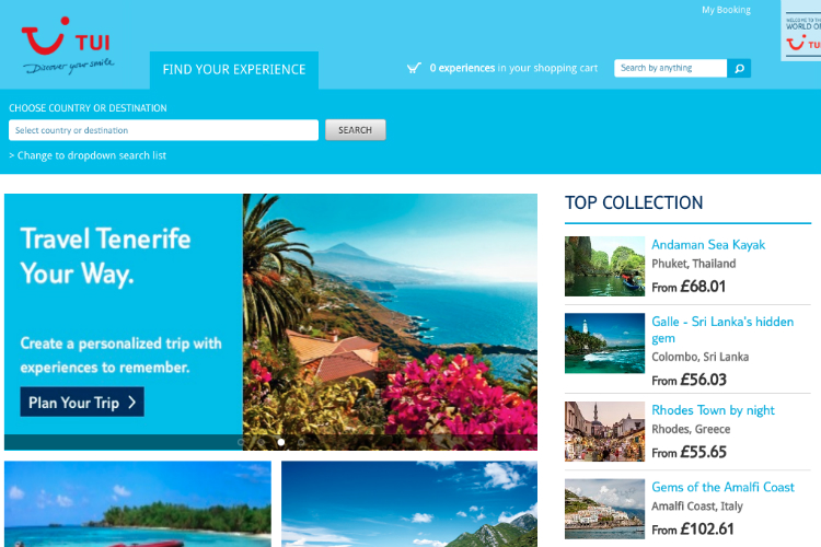 Tui introduces value guarantee for worldwide excursion programme