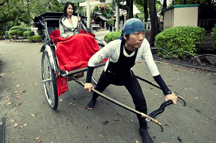 5. The rickshaw