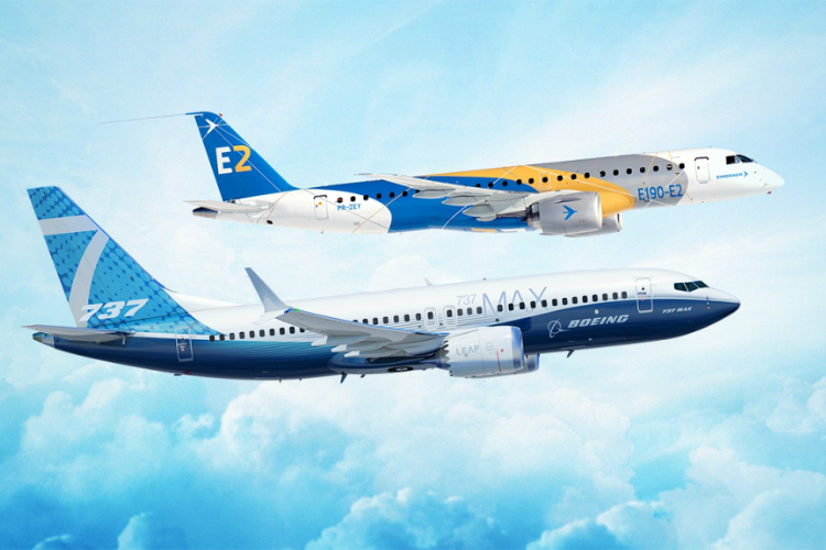 Boeing strikes joint venture partnership with Embraer
