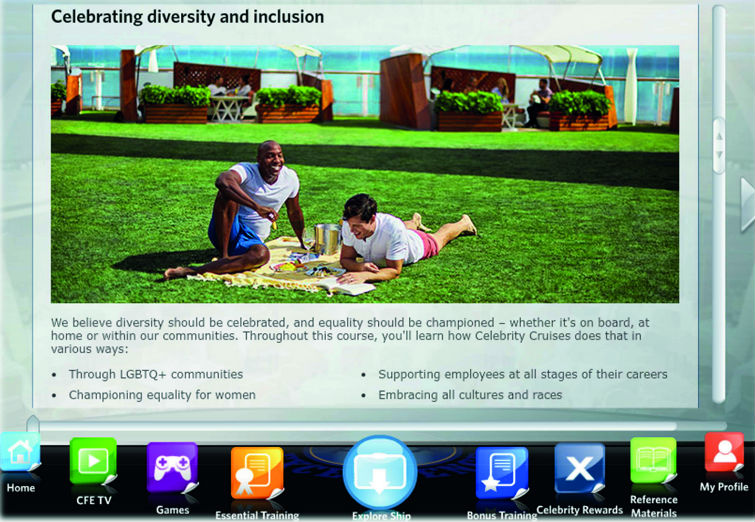 Celebrity Cruises launches diversity and inclusion training module