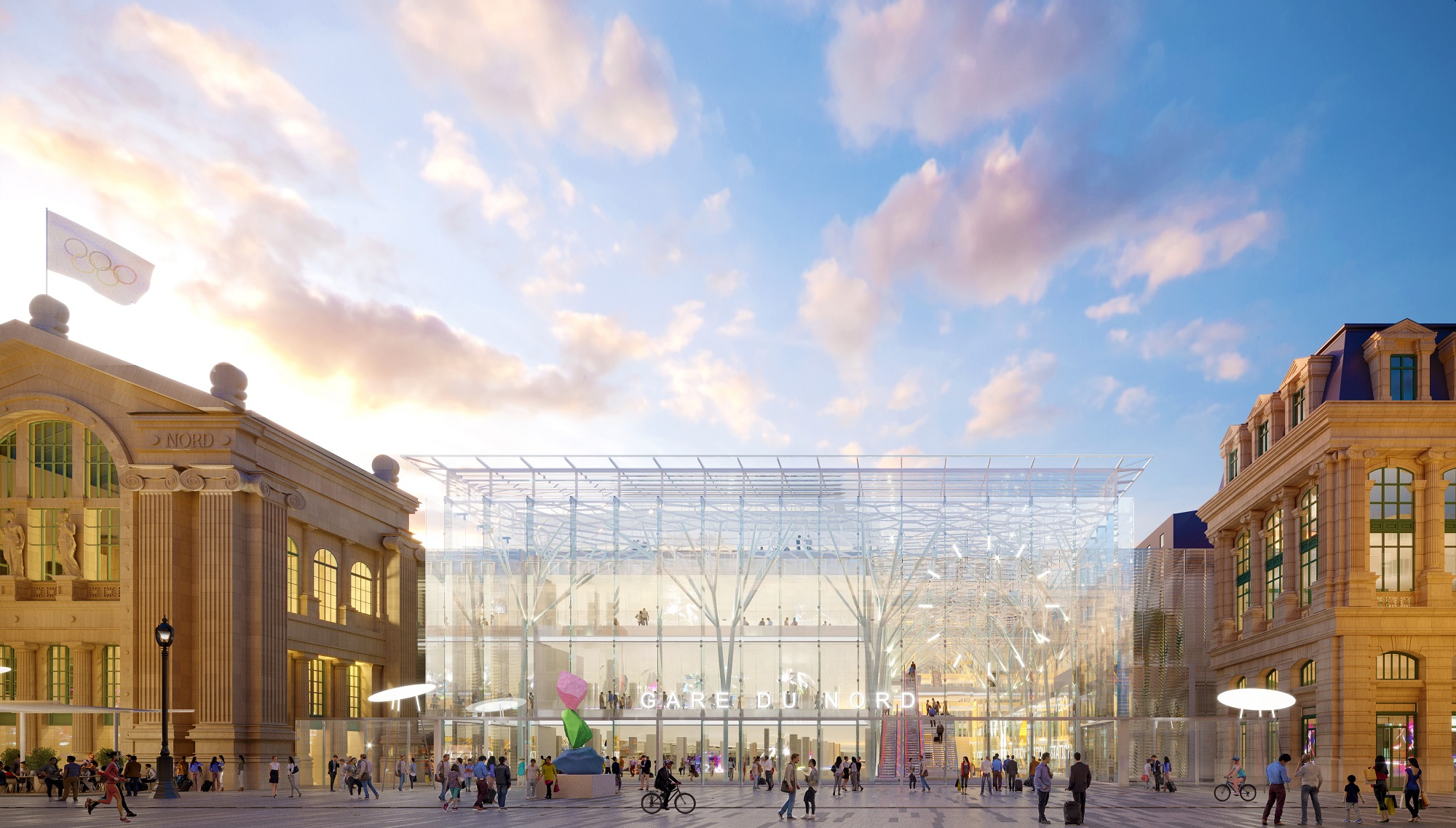Paris Gare du Nord station to triple in size boosting Eurostar capacity